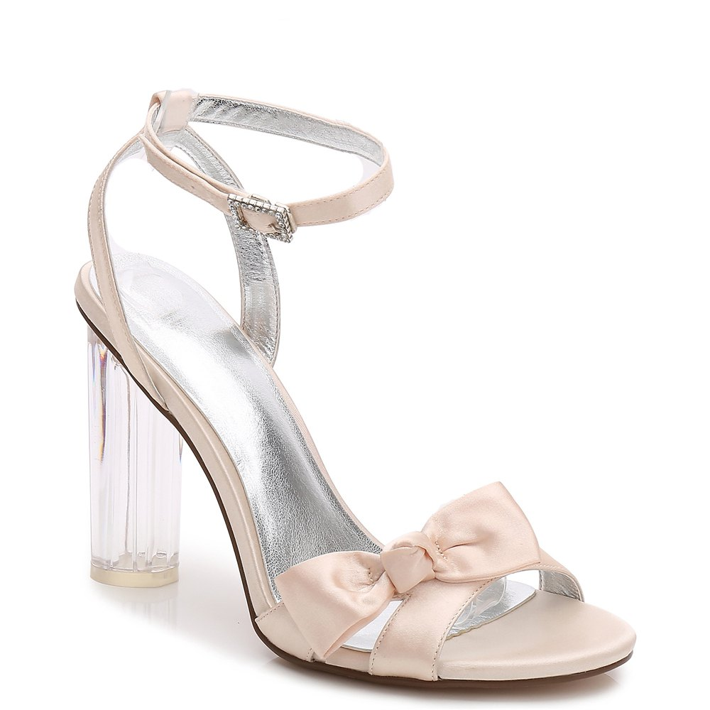 2615-1Women's Shoes Wedding Shoes - CHAMPAGNE 36