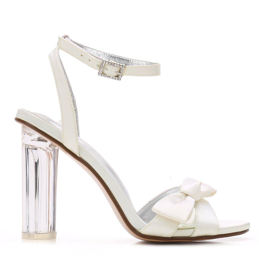 2615-1Women's Shoes Wedding Shoes - IVORY COLOR 36