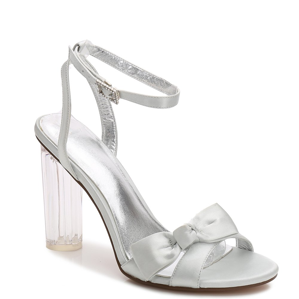 2615-1Women's Shoes Wedding Shoes - SILVER 41