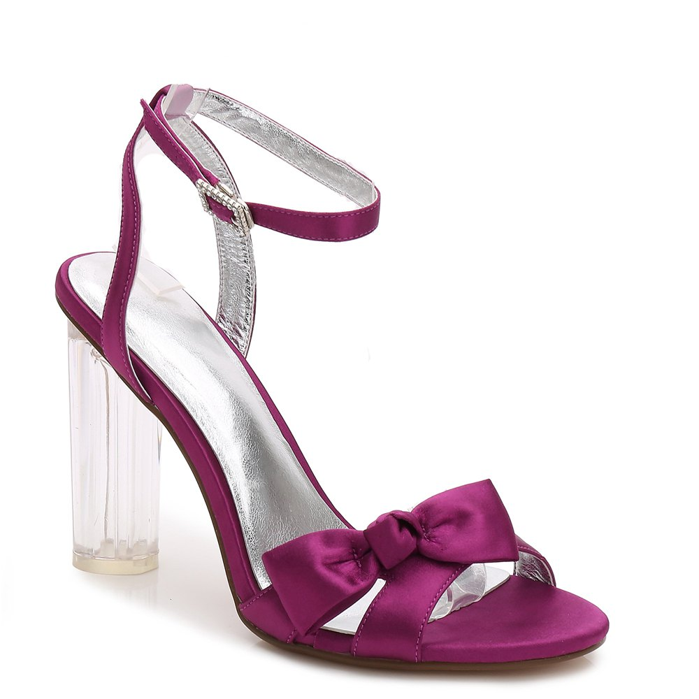 2615-1Women's Shoes Wedding Shoes - PURPLE 40
