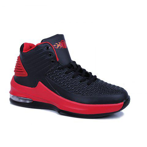 Fashion Men Sport Basketball Shoes - BLACK 40
