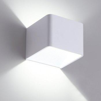 Modern Creative Living Room Indoor Wall Light Corridor Lamp AC 85 - 265V - WHITE WHITE