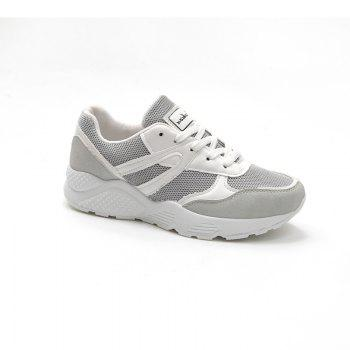 Leisure Sports Shoes All-Match Comfortable Breathable Strap - GRAY GRAY