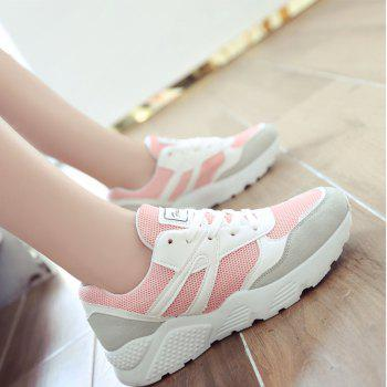 Leisure Sports Shoes All-Match Comfortable Breathable Strap - PINK PINK