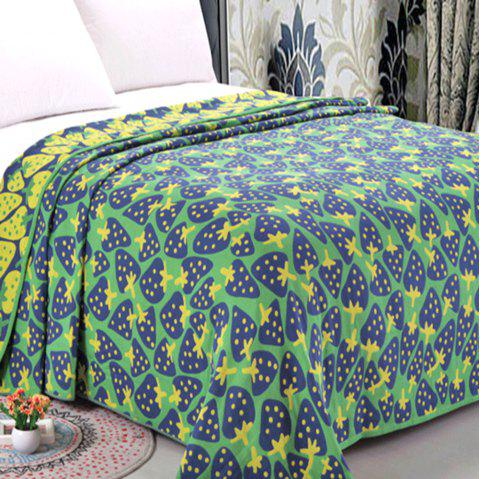 Cotton Three Layer Gauze Double Towel Quilt - IVY DOUBLE