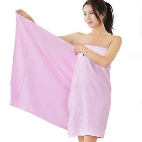 Serviette de Bain pour Adulte - Rose SINGLE
