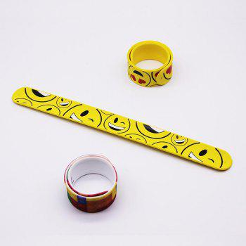 Silicone Wristband for Parties Christmas - YELLOW