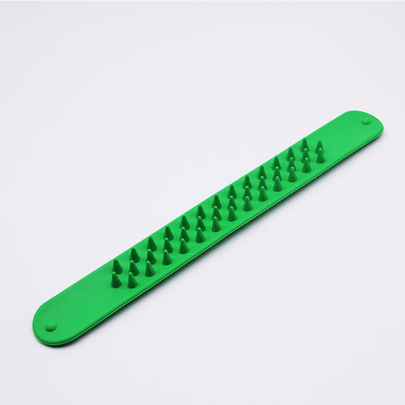 Silicone Wristband for Parties Christmas - GREEN