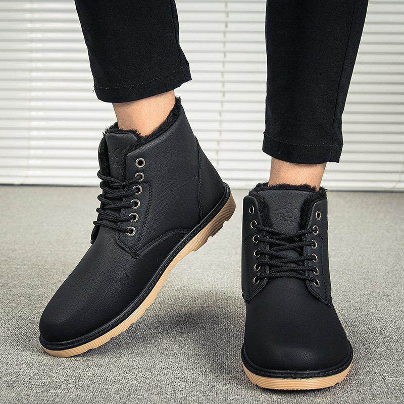 2018 Menu0026#39;s Soft Toe Rubber Sole Work Boots BLACK In Menu0026#39;s Boots Online Store. Best Black Pointed ...