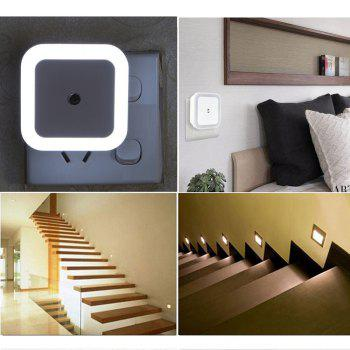 SHANNY 0.5W Smart Sensor Automatic Plug-in LED Night Light 5PCS - WHITE