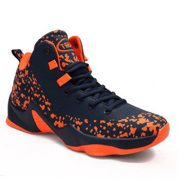 Men Breathable Basketball Shoes Jogging Athletic Walking Sneakers