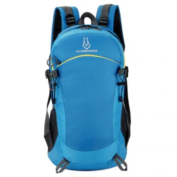 FLAMEHORSE Ultralight Travel Backpack Waterproof Outdoor Mountaineer Bag 40L - BLUE