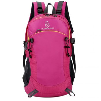 FLAMEHORSE Ultralight Travel Backpack Waterproof Outdoor Mountaineer Bag 40L - ROSE RED