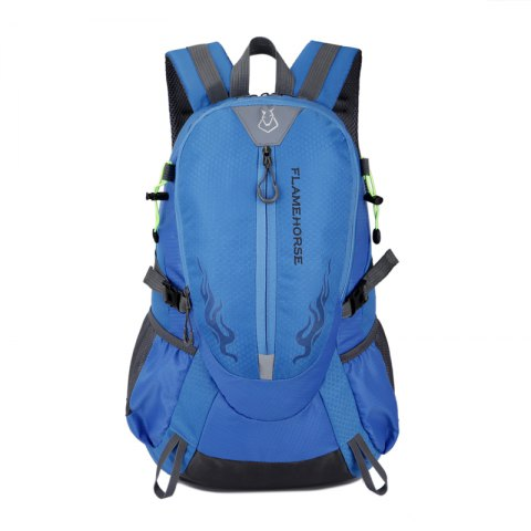 FLAMEHORSE Waterproof Backpack  Lovers Outdoor Mountaineer Bag 40L - BLUE