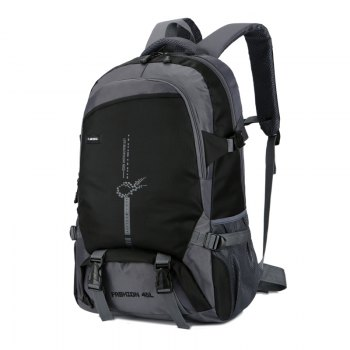 FLAMEHORSE Outdoor  Mountaineer Bag 45L Large Capacity Backpack -  BLACK
