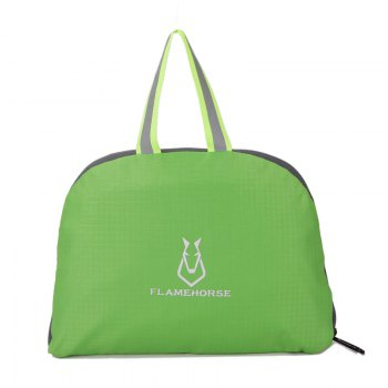 FLAMEHORSE Outdoor Nylon Waterproof Ultra Light Skin Foldable Bag - GREEN
