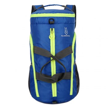 FLAMEHORSE Fold Bag Backpack Lightweight Pouch - ROYAL
