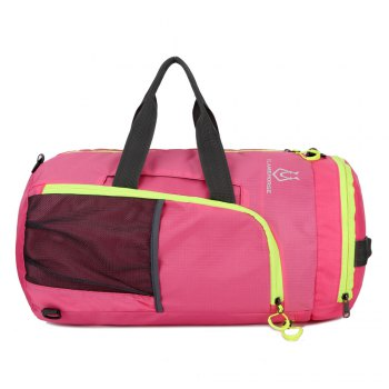 FLAMEHORSE Fold Bag Backpack Lightweight Pouch - ROSE RED ROSE RED