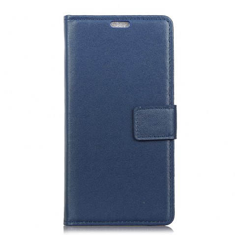 One Hundred Lines Wallet Stand Leather Phone Case For SONY L1 - BLUE
