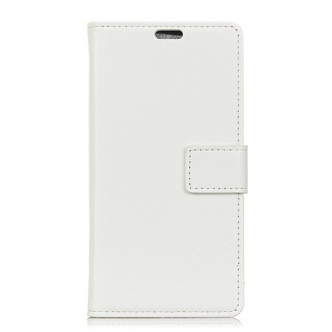 One Hundred Lines Wallet Stand Leather Phone Case For SONY XA1 - WHITE
