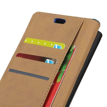 One Hundred Lines Wallet Stand Leather Phone Case For SONY XA1 -  SILVER