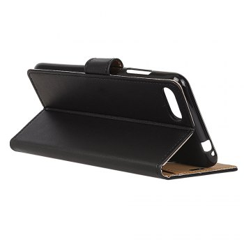 One Hundred Lines Wallet Stand Leather Phone Case For ASUS ZC554KL -  BLACK
