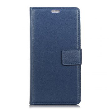 One Hundred Lines Wallet Stand Leather Phone Case For ASUS ZC554KL - BLUE BLUE
