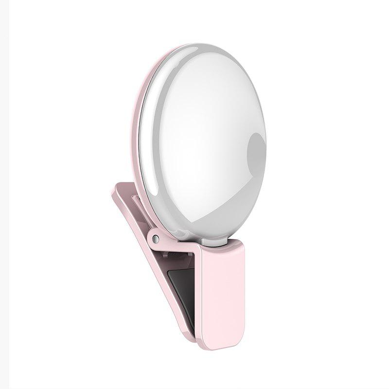 Selfie Fill Beautiful Light for Mobile Phone portable led selfie ring light for mobile phone camera fill light 100mah rechargeable selfie light for iphone sumsung