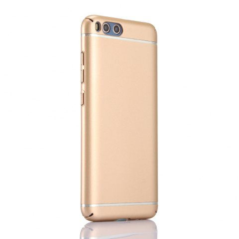 Pure Color Hardware Electroplating Mobile Phone Shell Case for Mi 6 - GOLDEN