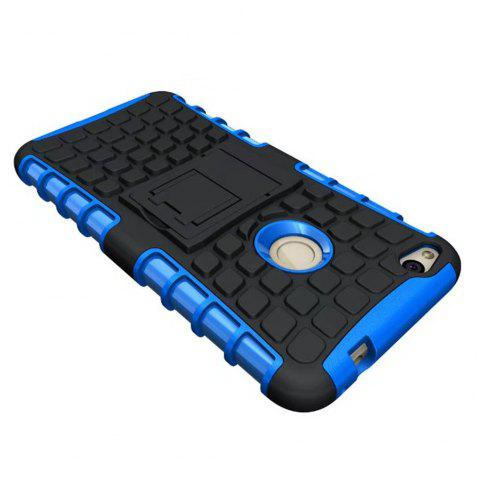 Rugged Spider Armor Heavy Duty Hybrid TPU Silicone Stand Impact Cover for Huawei P8 Lite 2017 Case - BLUE