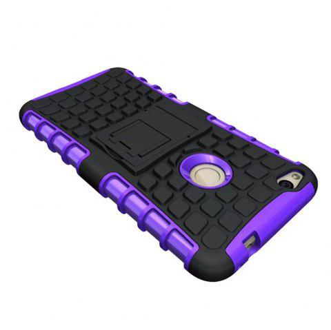 Rugged Spider Armor Heavy Duty Hybrid TPU Silicone Stand Impact Cover for Huawei P8 Lite 2017 Case - PURPLE
