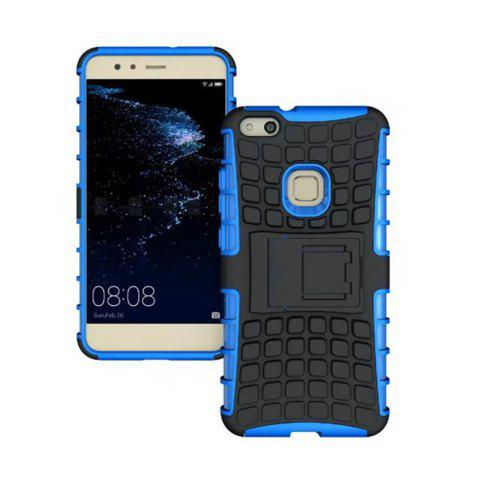 Rugged Spider Armor Heavy Duty Hybrid TPU Silicone Stand Impact Cover for Huawei P10 Lite Case - BLUE