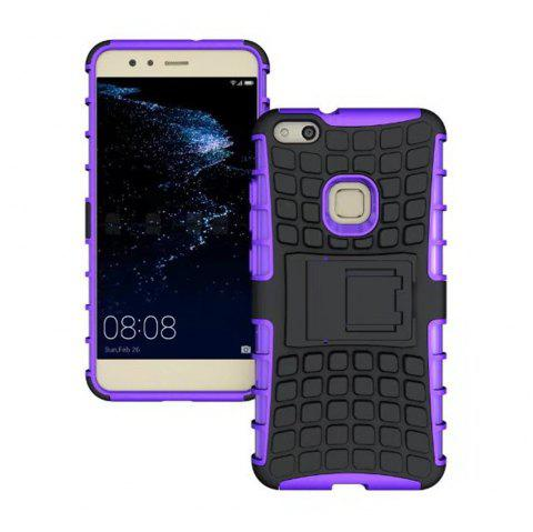 Rugged Spider Armor Heavy Duty Hybrid TPU Silicone Stand Impact Cover for Huawei P10 Lite Case - PURPLE