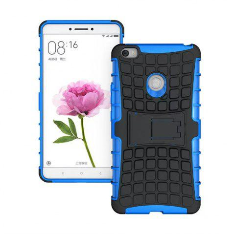 Rugged Spider Armor Heavy Duty Hybrid TPU Silicone Stand Impact Cover for Xiaomi Mi Max Case - BLUE