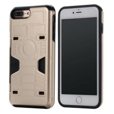 Luxury Heavy Duty Protection Dirt Proof Strong PC and TPU Phone Case For iPhone 7 Plus / 8 Plus - GOLDEN