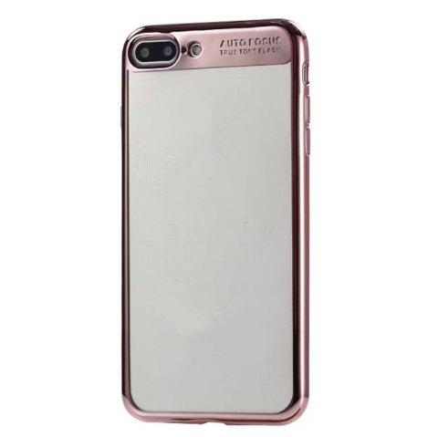 Electroplating Tpu Mobile Phone Protection Shell for iPhone 7 Plus / 8 Plus - PINK