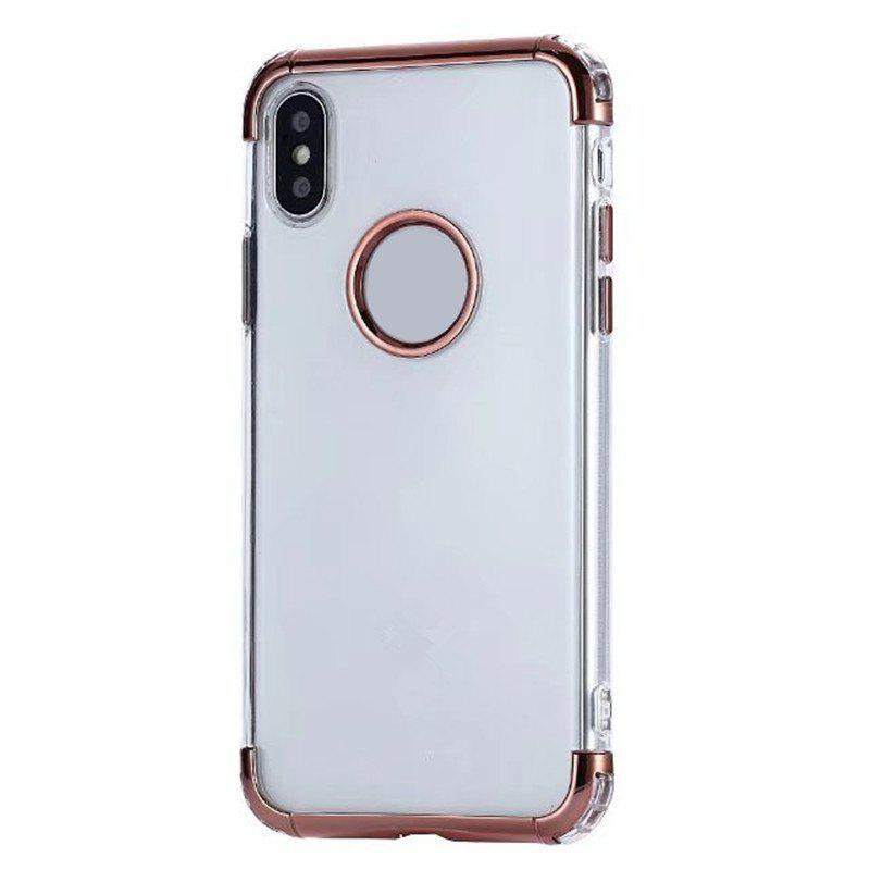 Unicorn Beetle Style Housse de protection hybride Premium Premium pour iPhone X - Or Rose