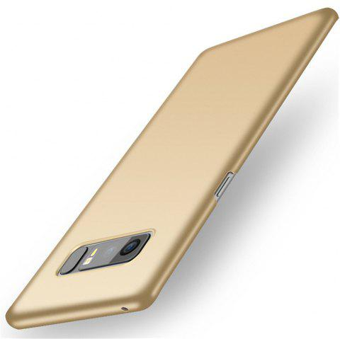 Ultra Thin PC Hard Protection Phone Back Cover for Samsung Galaxy Note 8 Case - GOLDEN