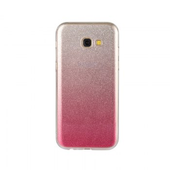 TPU Translucent Flash Shell for Samsung Galaxy A7 2017 - PINK