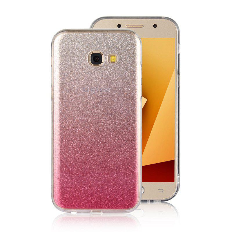 TPU Translucide Flash Shell pour Samsung Galaxy A7 2017 - ROSE PÂLE