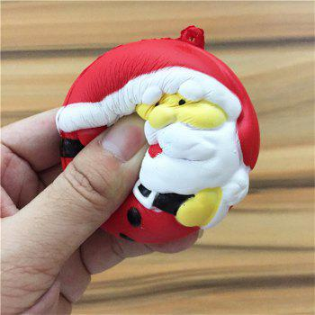 Stress Reliever Santa Claus Super Slow Rising Kids Toy - COLORMIX
