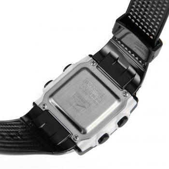 SYNOKE 66188 Youth Multi-function Electronic Watch - BLACK