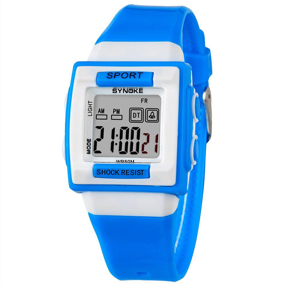 SYNOKE 66188 Youth Multi-function Electronic Watch - BLUE