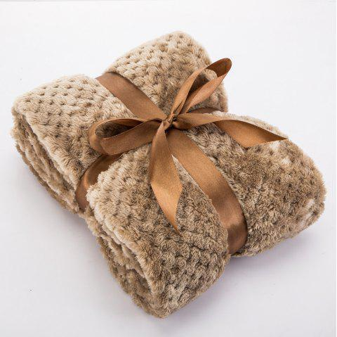 Soft Warm Durable for Winter Pet Blanket - BEIGE