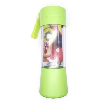 Atongm Portable Mini Juicer Juice Machine Household Students - GREEN GREEN