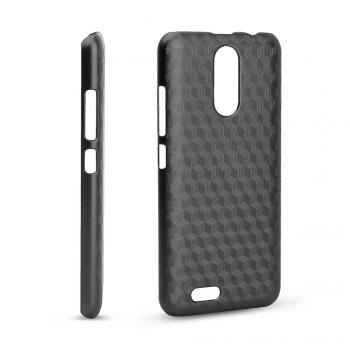 Ocube Metallic Finish Anti-Discoloring Premium Hard Plastic Case Cover for Oukitel C8 - BLACK