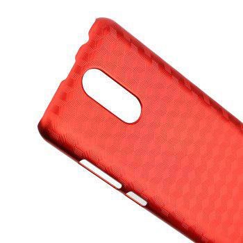 Ocube Metallic Finish Anti-Discoloring Premium Hard Plastic Case Cover for Oukitel C8 - RED
