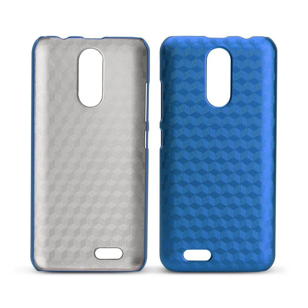 Ocube Metallic Finish Anti-Discoloring Premium Hard Plastic Case Cover for Oukitel C8 - BLUE