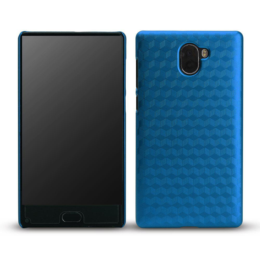 Ocube Metallic Finish Anti-Discoloring Premium Hard Plastic Case Cover for Leagoo Kiicaa Mix - BLUE