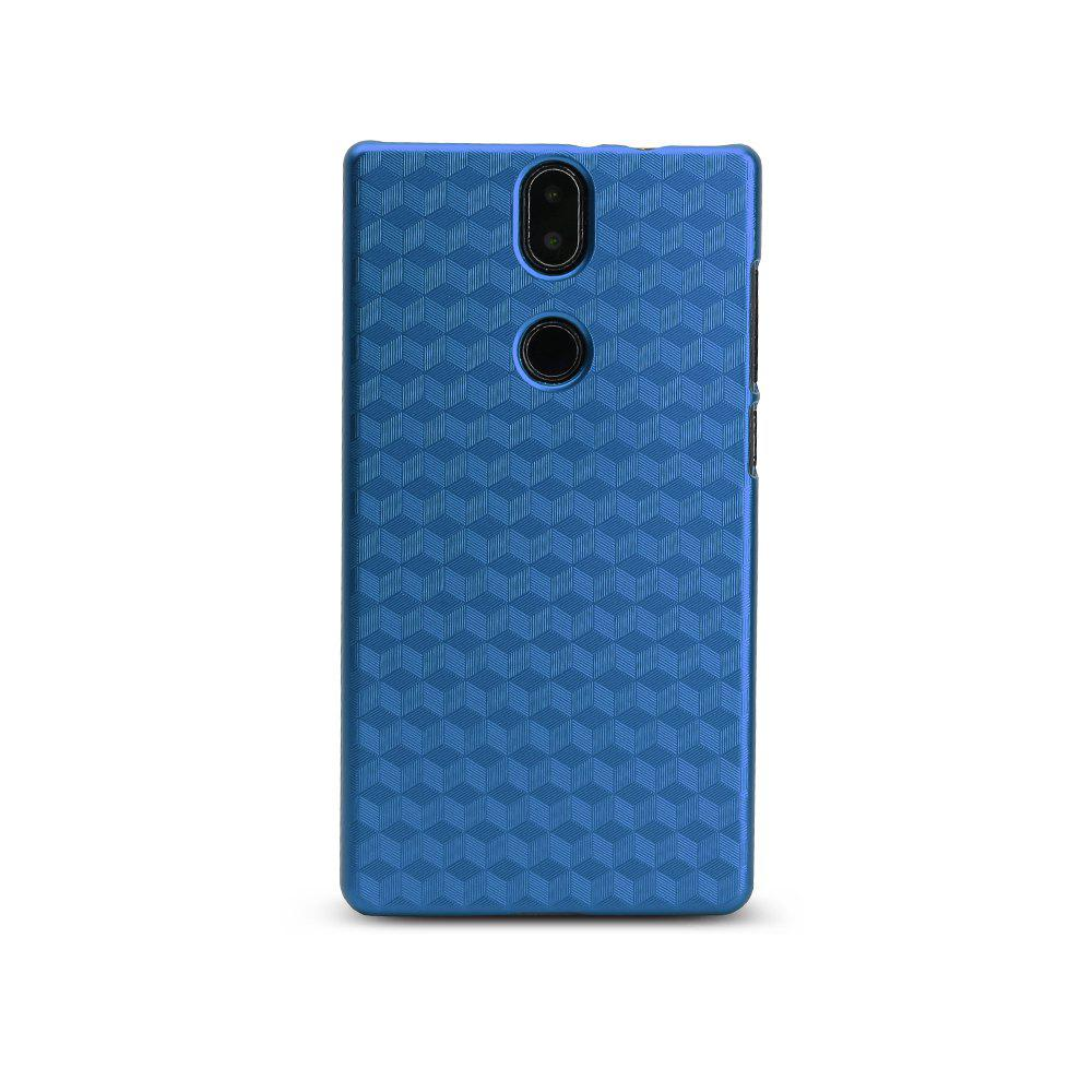 Ocube Metallic Finish Anti-Discoloring Premium Hard Plastic Case Cover for Umidigi Crystal - BLUE